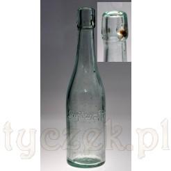 Stara butelka z napisem Luftwaffe oryginał z okresu III Rzeszy