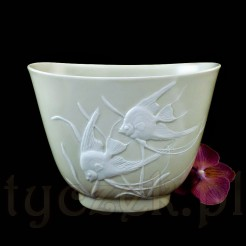 Luksusowy wazon Rosenthal ze skalarami