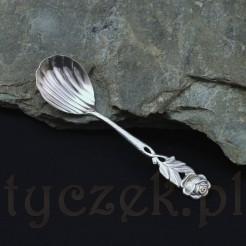 dekoracyjna łyżeczka do cukiernicy