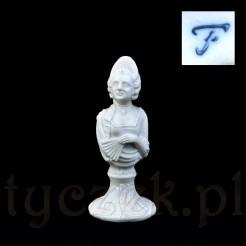 Filigranowa figurka wykonana z porcelany