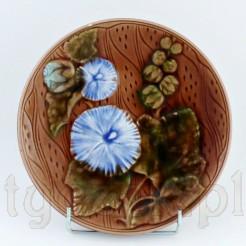 Secesyjna majolika - piękny talerz Villeroy&Boch
