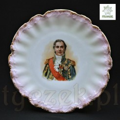 XIX sto wieczny talerz porcelanowy