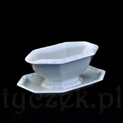 ekskluzywna porcelanowa sosjera marki Rosenthal