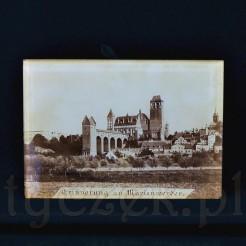 Szklany obrazek zabytkowy Kwidzyn - dawny Marienwerder
