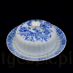 Oryginalna maselnica ze wzorem China Blau