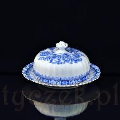 Porcelanowa maselniczka wykonana na Śląsku