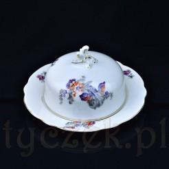 Wyrób z białej porcelany znanej śląskiej wytwórni KPM - Carl Krister Waldenburg (Wałbrzych)
