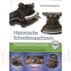 """Zabytkowe maszyny do pisania - KATALOG """"Historische Schreibmaschine"""""""