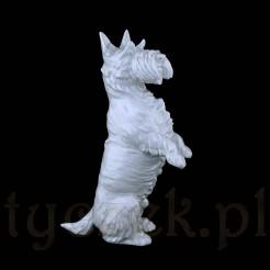 Szkocki terier - figurka porcelanowa