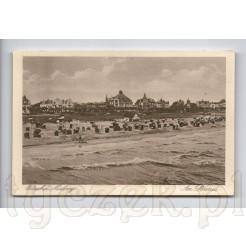 Kartka pocztowa z przedwojennych Międzyzdroji