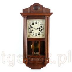 Finezyjny zegar ścienny z epoki Art Nouveau