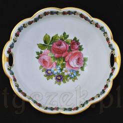 Przepiękna porcelanowa misa śląskiej wytwórni