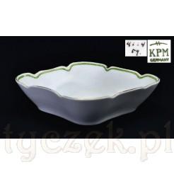 Salaterka na srodek stołu: śląska porcelana