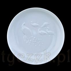 Miseczka z białej porcelany z 1982 roku