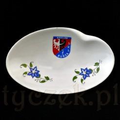 Pamiątka sportowa z porcelany