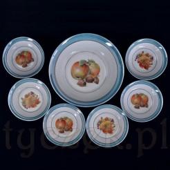 owocowy raj na porcelanie