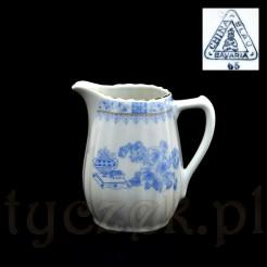 China Blau sygnowany mlecznik z bawarskiej porcelany