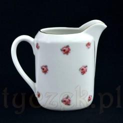 Śląski dzbanuszek na mleczko i śmietankę z porcelany Wałbrzyskiej