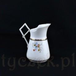 Ciekawy mlecznik z rzadko spotykanym uchwytem w kształcie karo