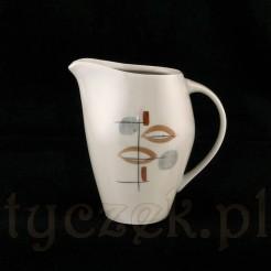 Joanna - porcelanowy mlecznik w stylu New Look.