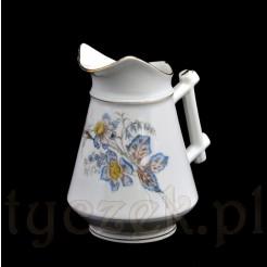 Sygnowany śląski mlecznik z porcelany Ohme