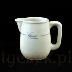 Oryginalny mlecznik porcelanowy z kasyna