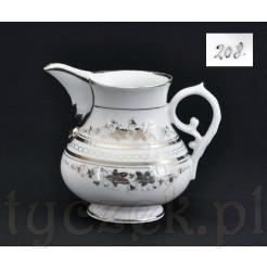 Porcelanowy dzbanuszek na mleko - Antyk z XIX wieku