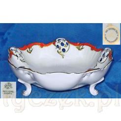 Paterka wykonana ze szlachetnej białej porcelany