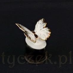 Porcelanowa figurka motylka