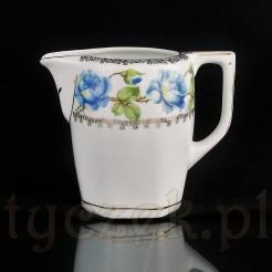 MZ mlecznik w niebieskie róże