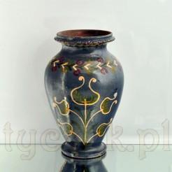 Kaszubski wazon ceramiczny z manufaktury Necel