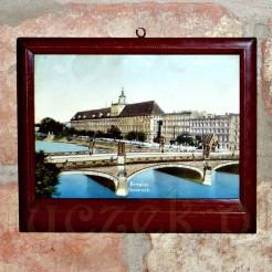Pamiątkowy obrazek z dawnego Breslau z lat 1920 - 1945.