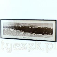 Panorama Waldkarpathen. Wspaniały obrazek zdjęciowy.