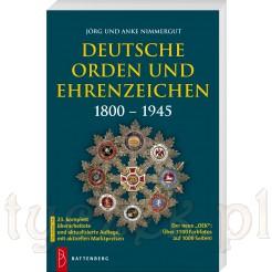 Katalog Falerystyka Niemcy 1800-1945 Odznaczenia i ordery na 1150 stronach w OEK