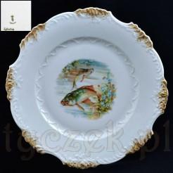 kolekcjonerski talerz porcelanowy