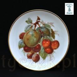 Dekoracyjny talerz śląski idealny do ekspozycji na stojaczku do porcelany