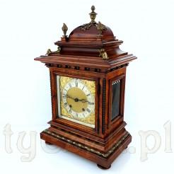 Elegancki i duży zegar zabytkowy z przełomu XIX i XX wieku