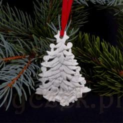 fd8c67451afff1 Ażurowa choinka - dekoracja na świąteczne drzewko - Antyczek