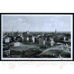 Panorama miasta położonego w województwie wielkopolskim- Leszna (niem. Lissa)
