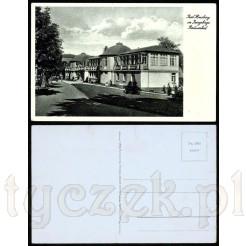 Kartka ze Świeradowa Zdroju z widokiem na Radiumbad- nie była w obiegu