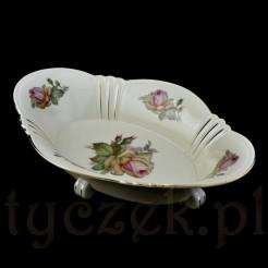 Luksusowa patera na owoce i wypiek z markowej porcelany bawarskiej
