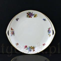 Piękna patera ze szlachetnej porcelany w kolorze kości słoniowej marki Rosenthal