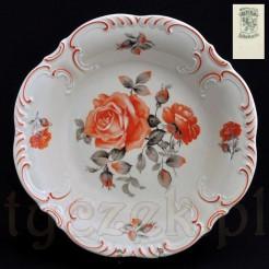 Wyjątkowa patera z porcelany ecru marki Schumann bavaria
