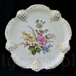 Piękny motyw łączki na porcelanie ecru ROSENTHAL