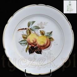 Dekoracyjna porcelanowa malowane owoce