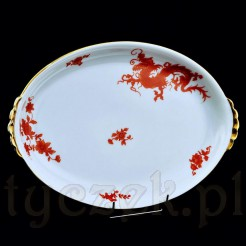 Rewelacyjny motyw RED DRAGON na porcelanie