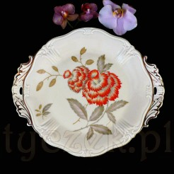 Elegancka porcelanowa patera z Żar