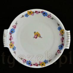 Wytworna patera porcelanowa w kolorze ecru