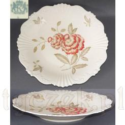 Pięknie dekorowana porcelana z Żar z rzadkim znakiem-sygnaturą