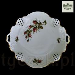 Porcelana marki Rosenthal w kolorze kremowym z różą stulistną